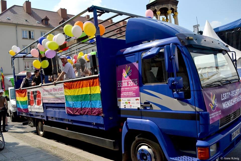 CSD Magdeburg - Parade