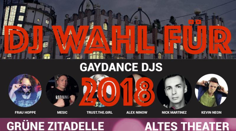 DJ Wahl für 2018