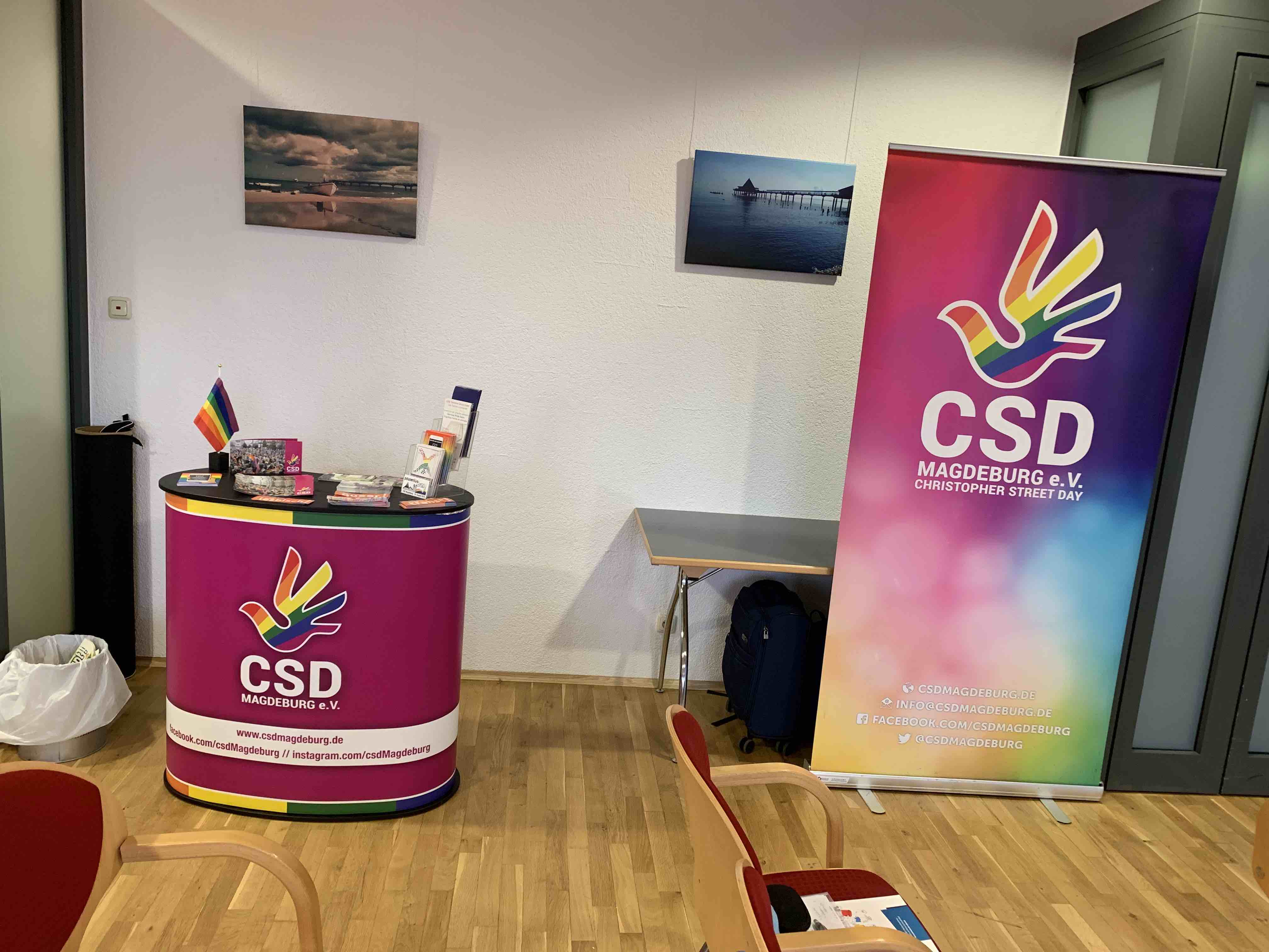 CSD Magdeburg stand